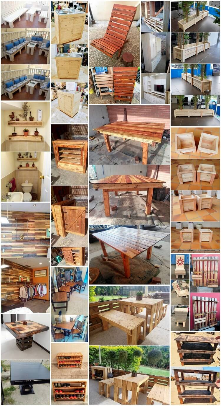 Clever Wood Pallet Projects to Prettify Your Home and Garden