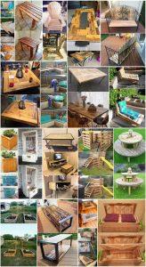 Latest DIY Wood Pallet Reusing Ideas