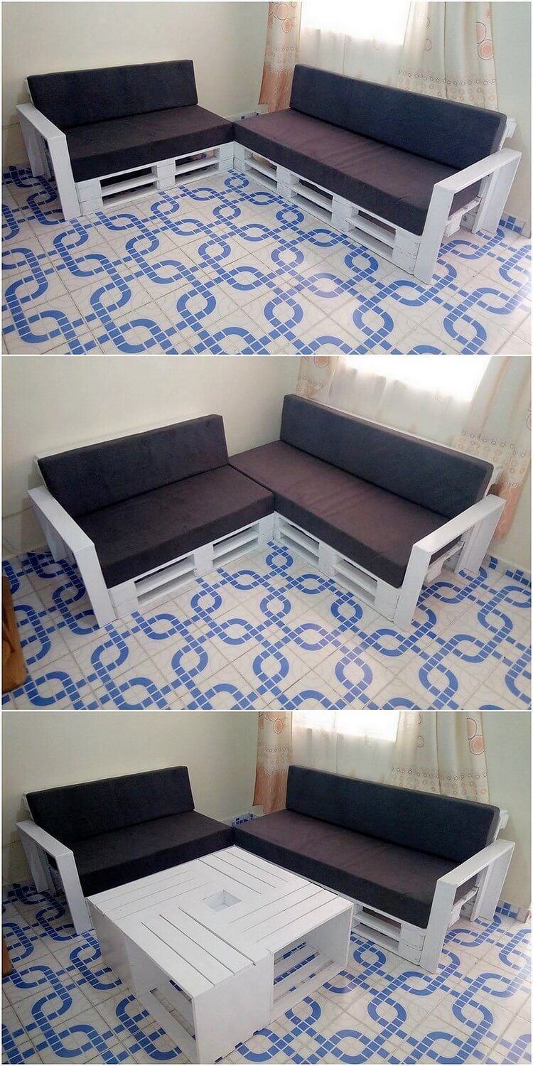 Pallet Couch and Table Furniture