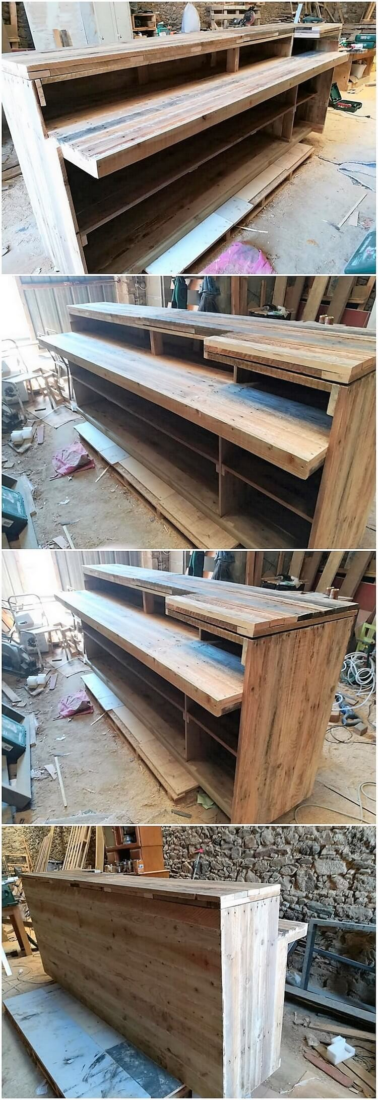 Pallet Counter Table or Desk