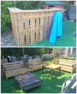 Pallet Garden Bar and Furniture