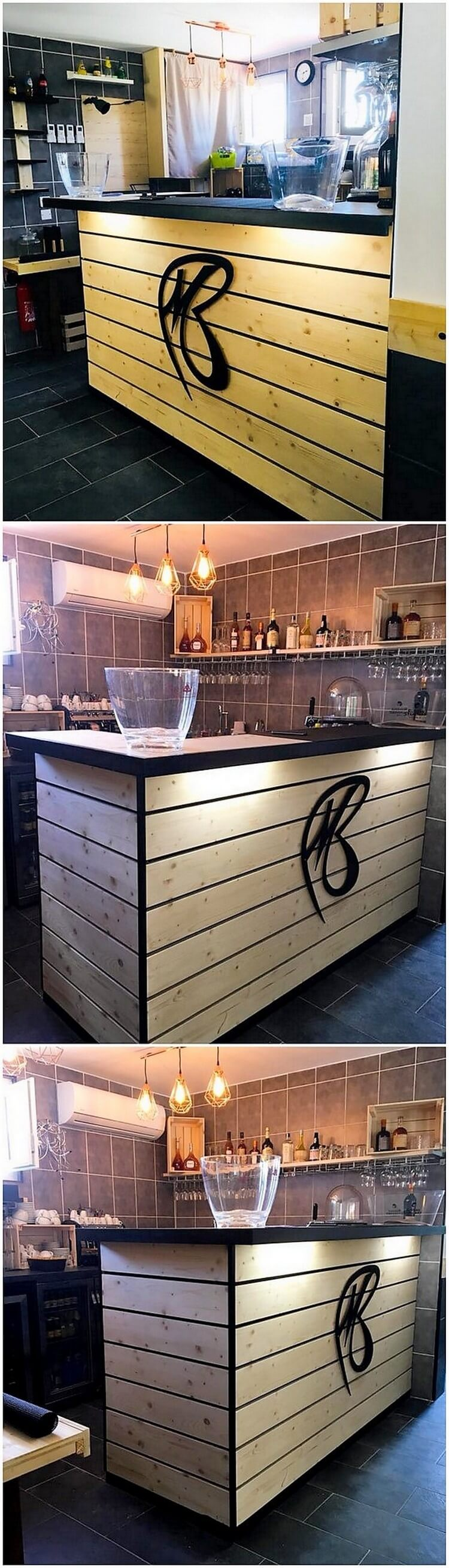 Pallet Kitchen Counter