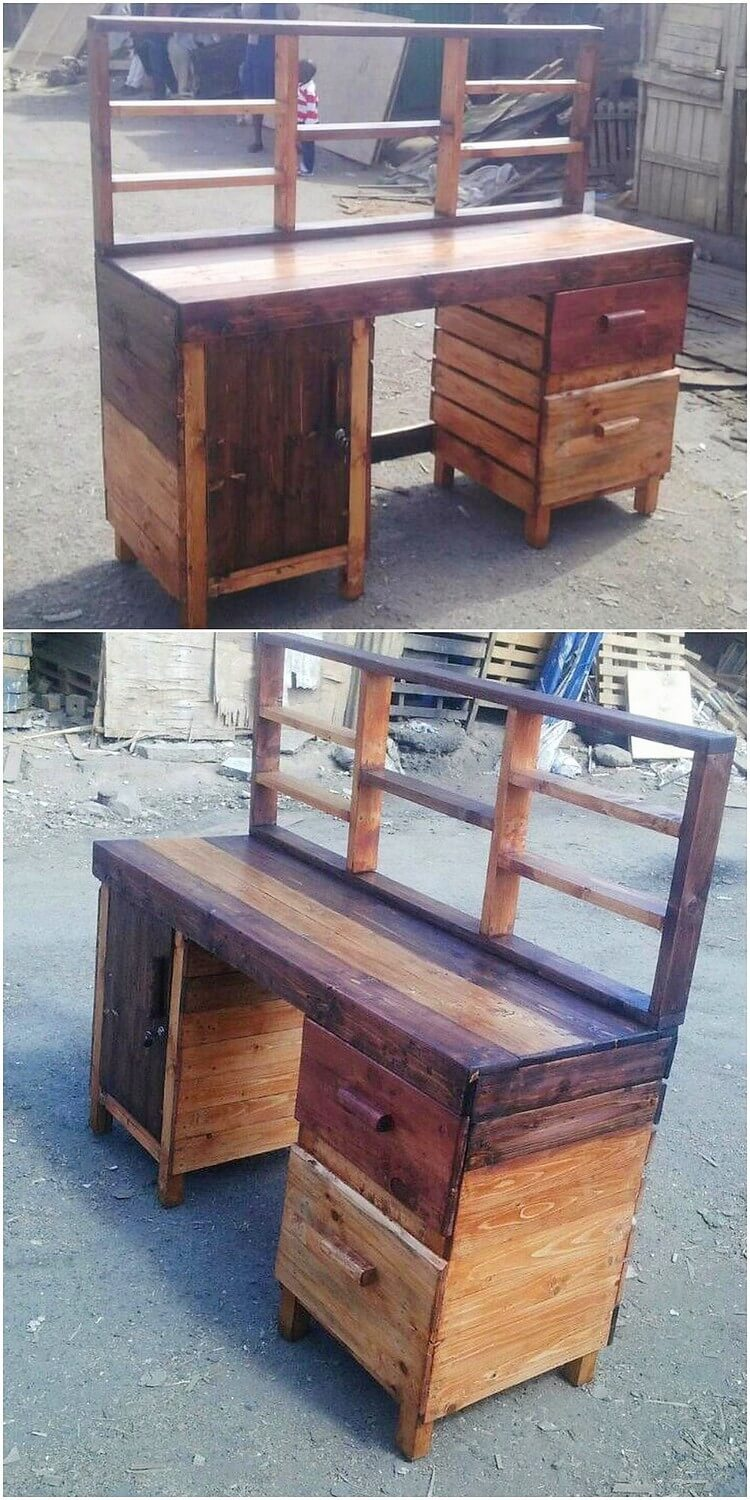 Pallet Office Desk or Table