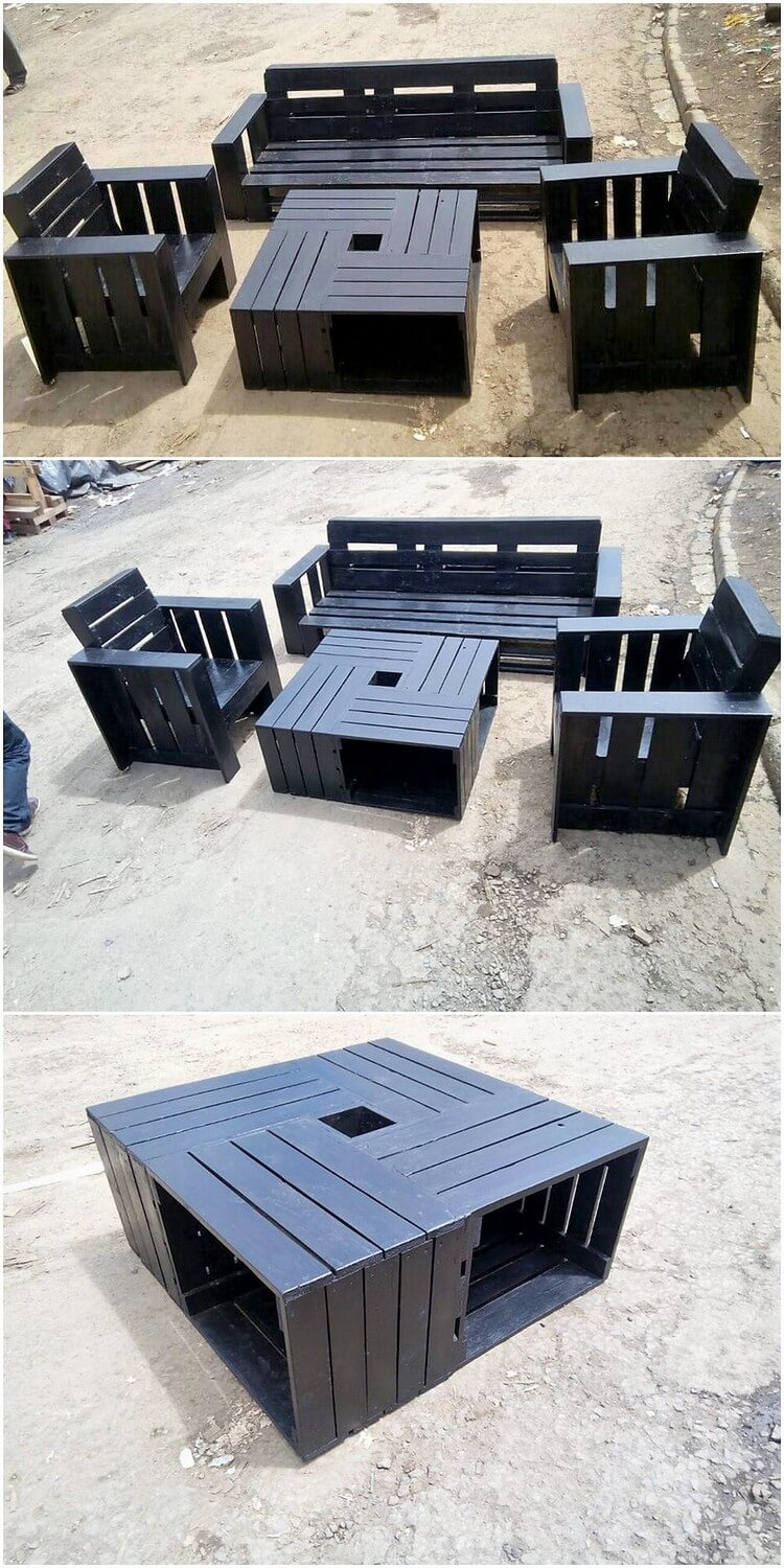 Amazing Things to do with Recycled Wood Pallets