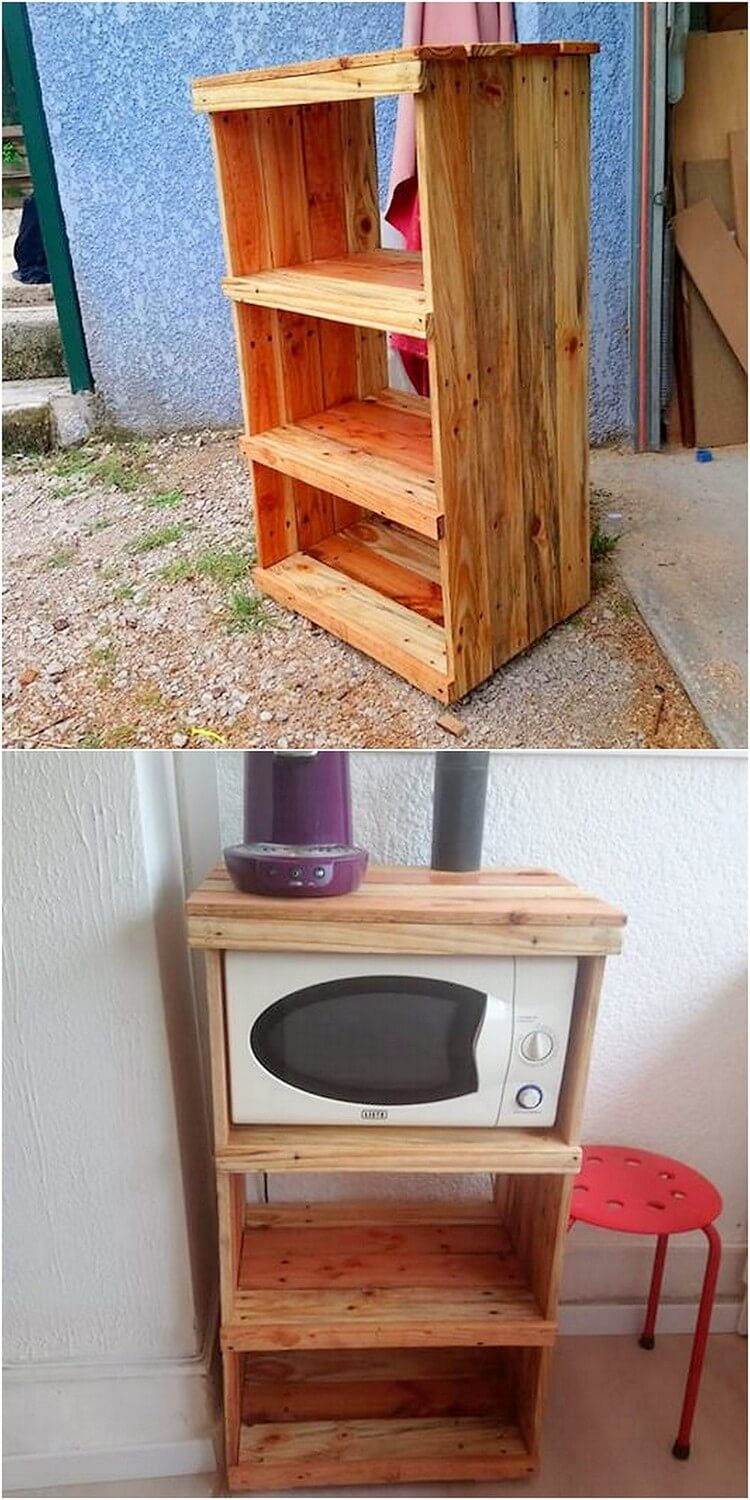 Pallet Oven Stand