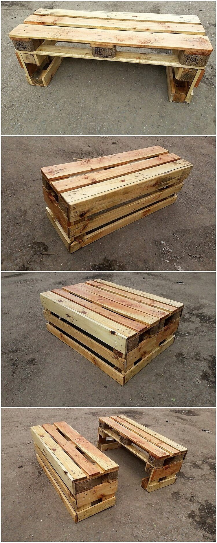 Pallet Tables or Benches
