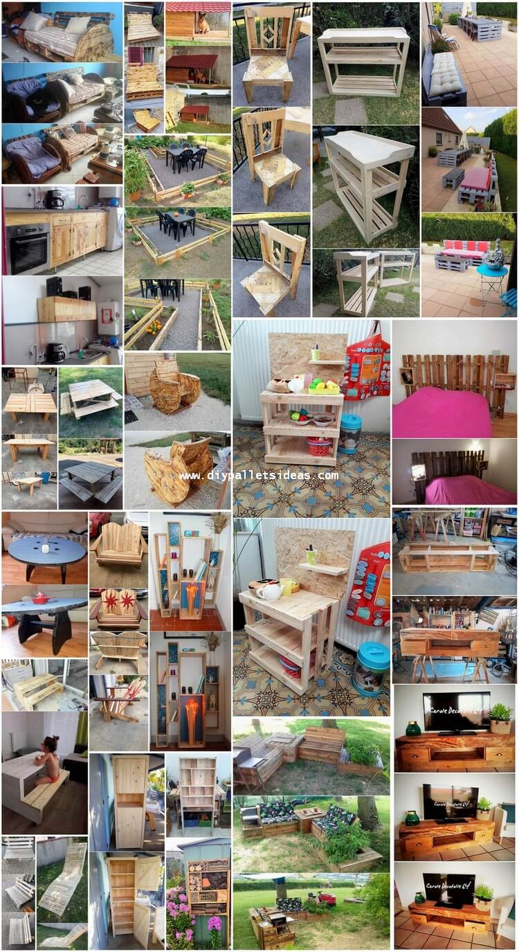 Art of Recycling DIY Wood Pallet Reusing Ideas