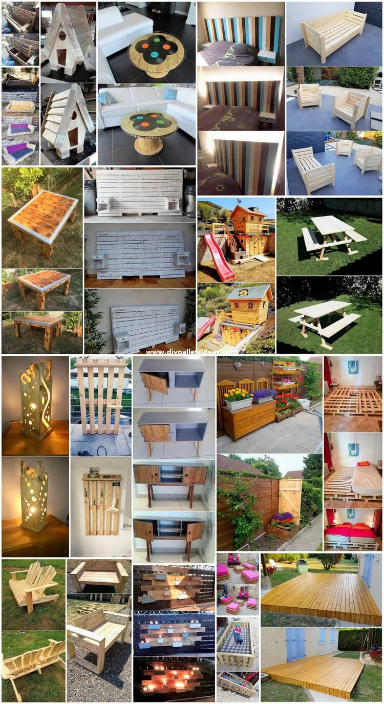 Breathtaking DIY Pallet Ideas for Your Beautification