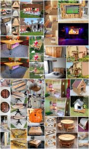 Cheap DIY Ideas with Recycled Wood Pallets