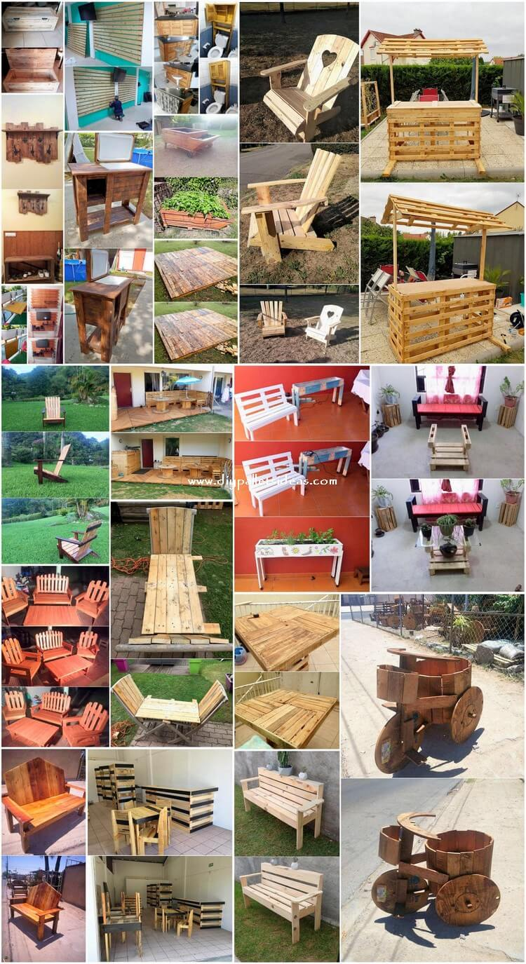 Cool and Easy to Make DIY Pallet Projects