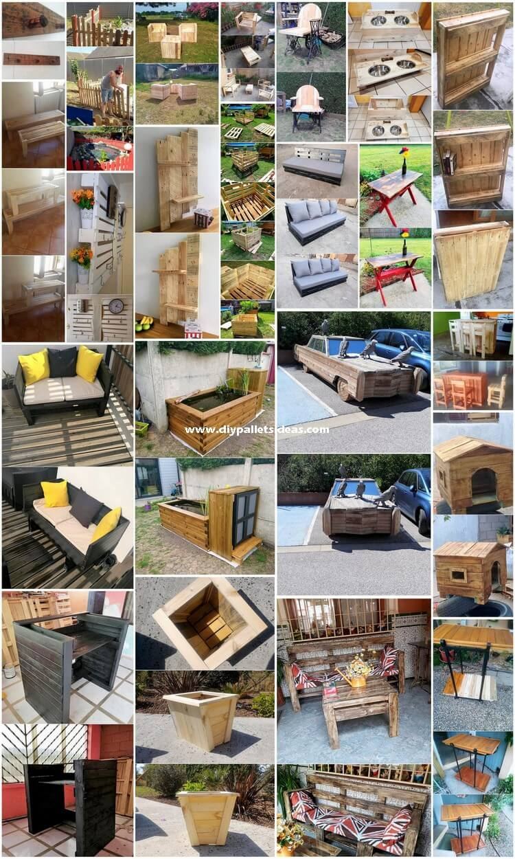 Creative Ideas for Recycling Old Wooden Pallets