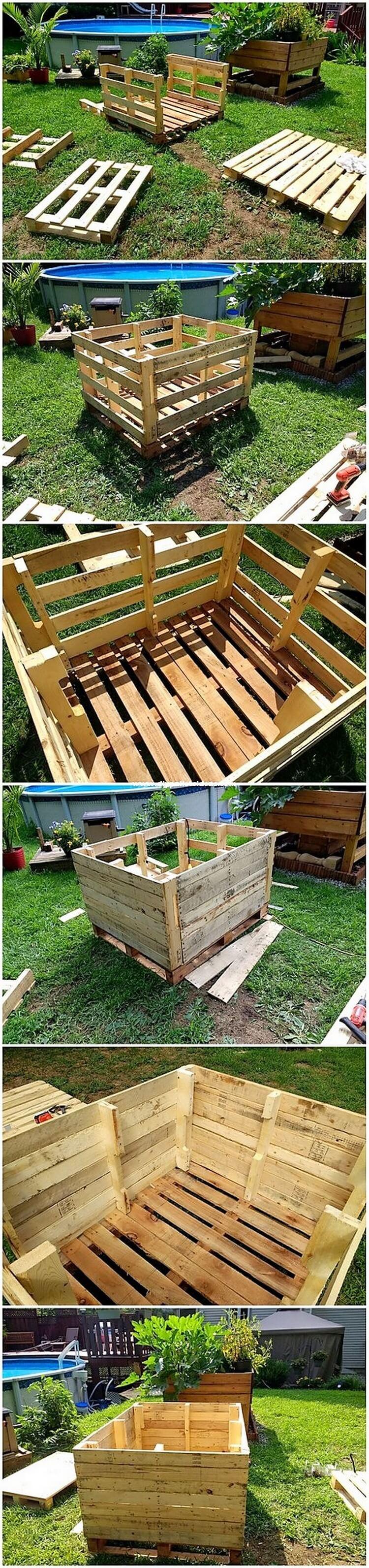 DIY Pallet Planter