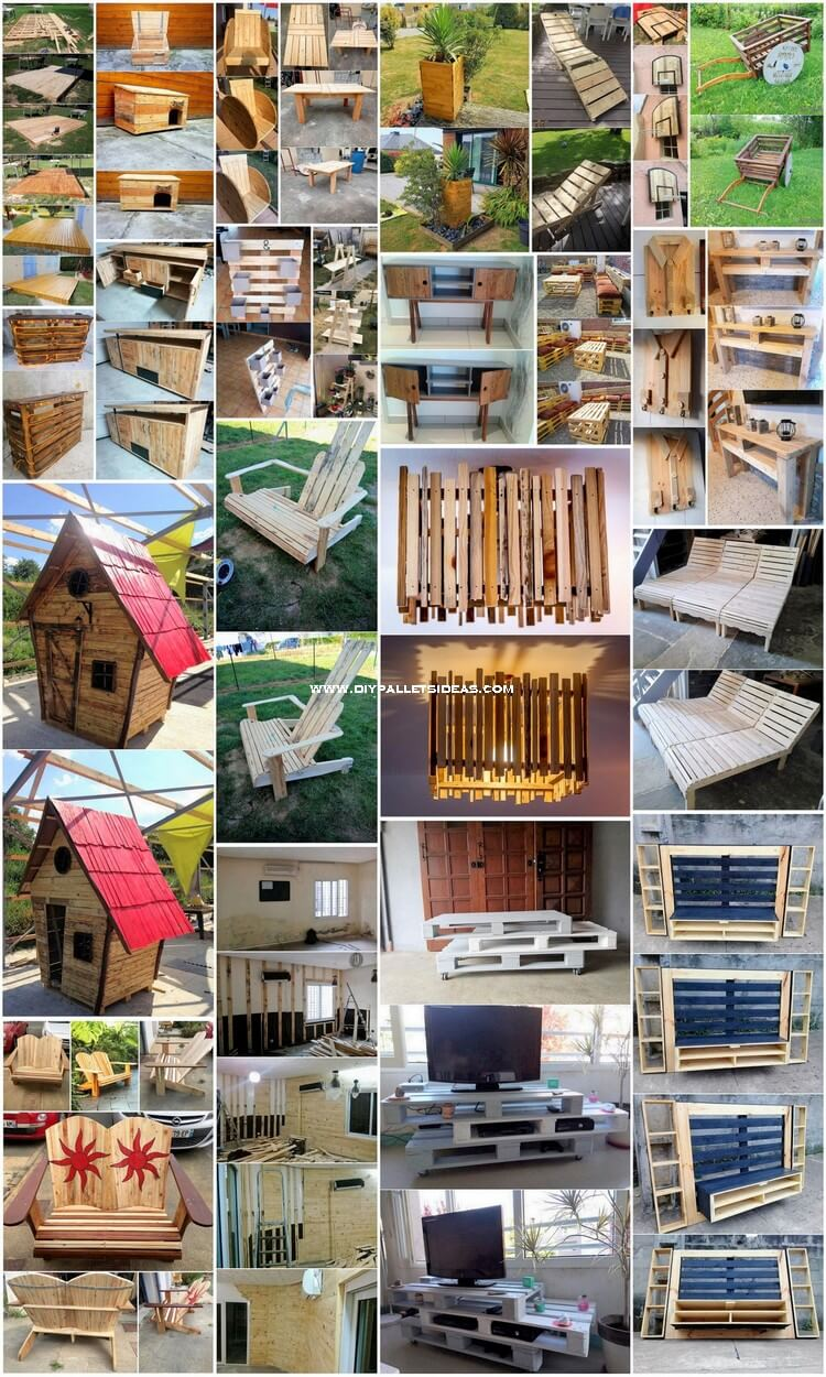 Expressive DIY Pallets Ideas for Your Home Furniture