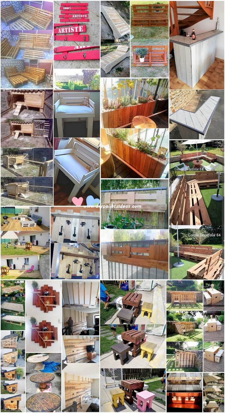 Genius DIY Crafting Ideas with Recycled Wood Pallets