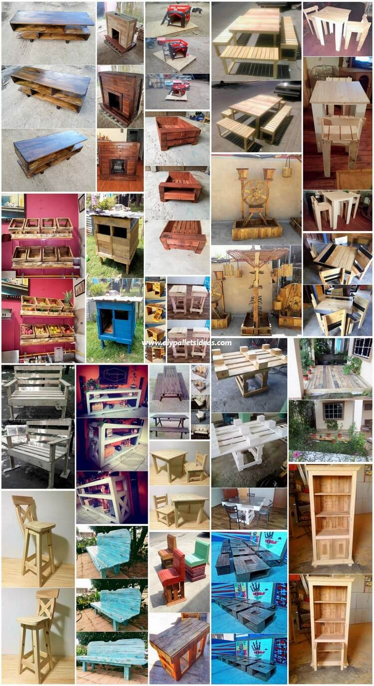 Impressive DIY Pallet Ideas You Can Make with Old Pallets