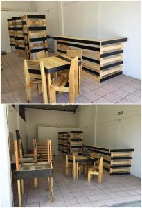 Pallet Bar and Furniture