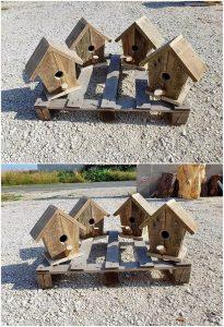 Pallet Bird Houses