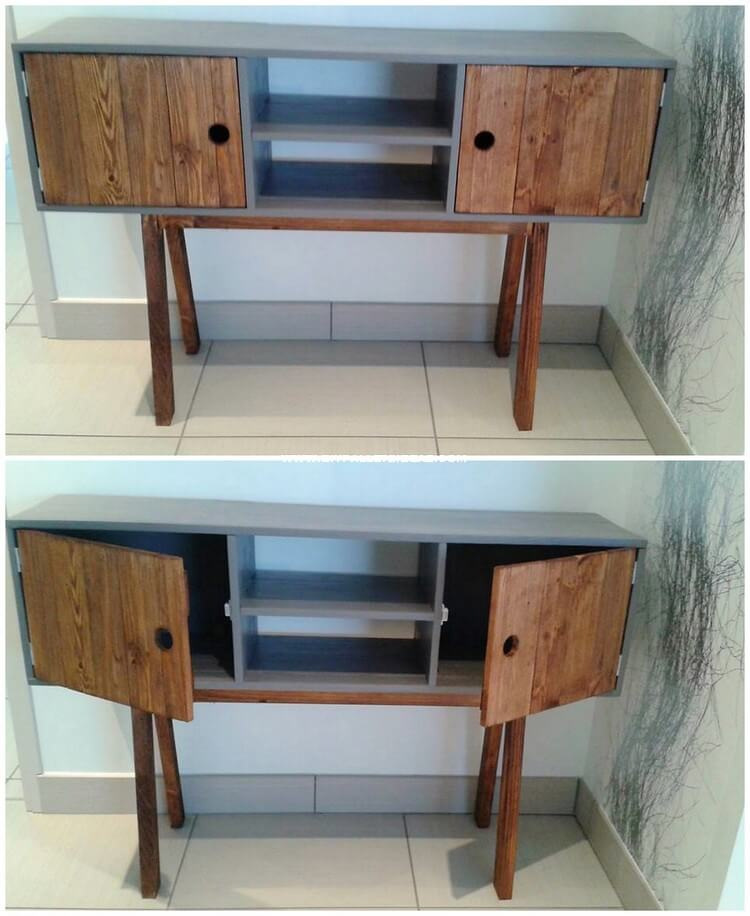 Pallet Cabinet or Study Table