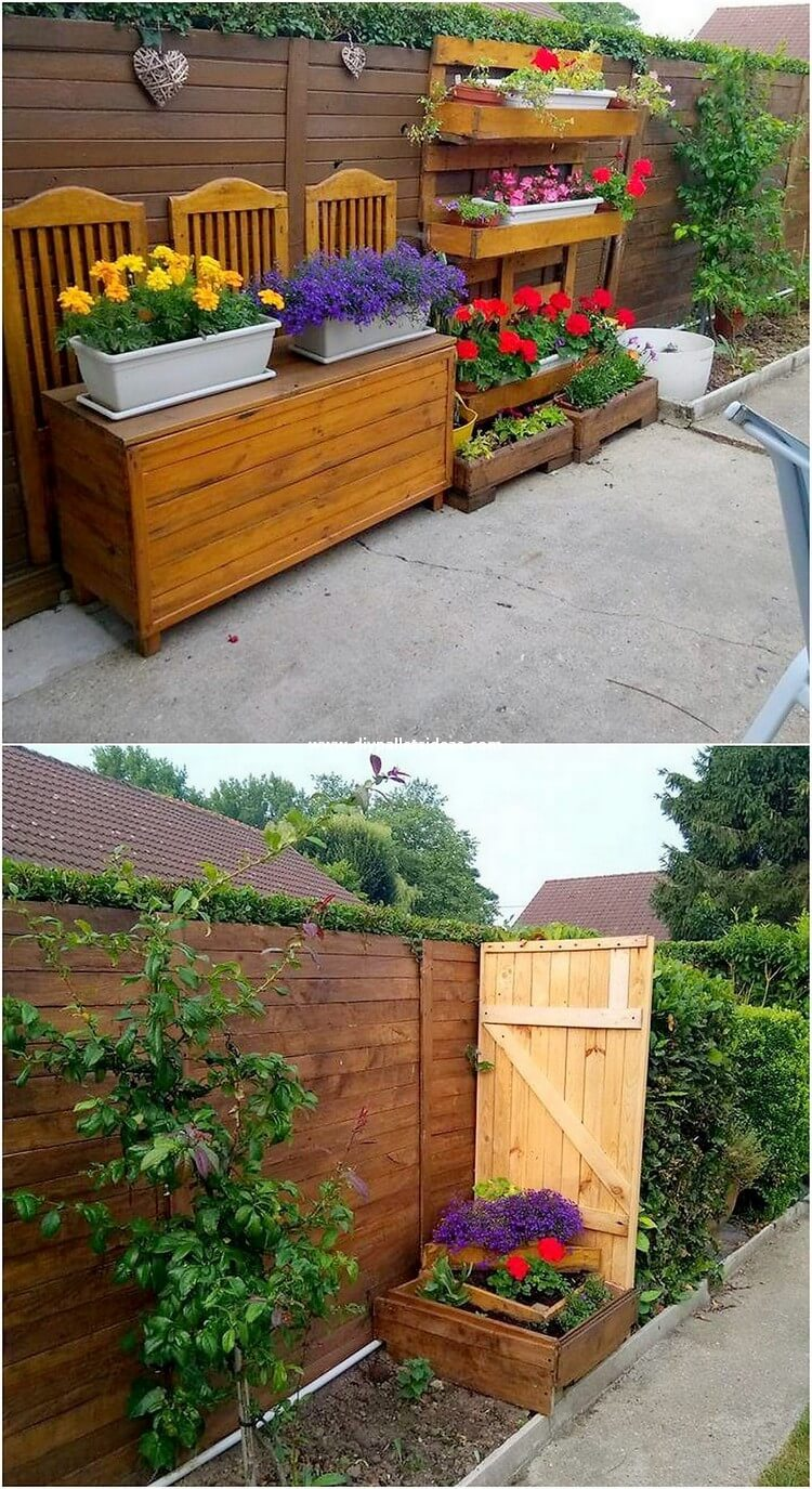 Pallet Outdoor Planter