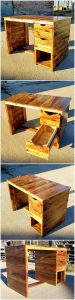 Pallet Study or Office Desk Table