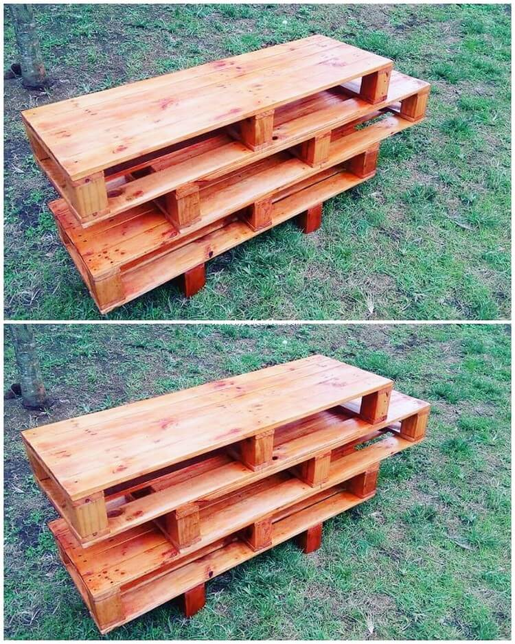 Pallet TV Stand or Media Unit