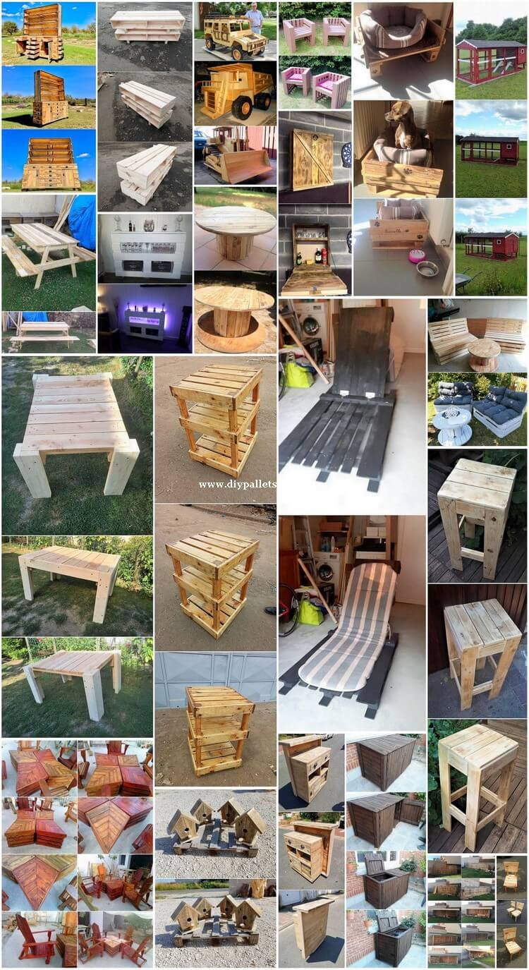 What to Make with Recycled Wood Pallets