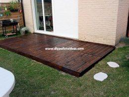DIY Pallet Garden Terrace: Step by Step Plan