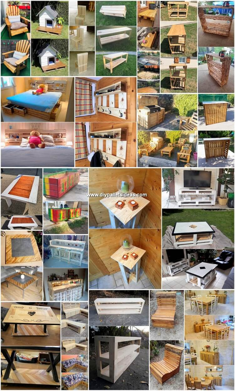 Brilliant Ideas for Recycling Old Wood Pallets