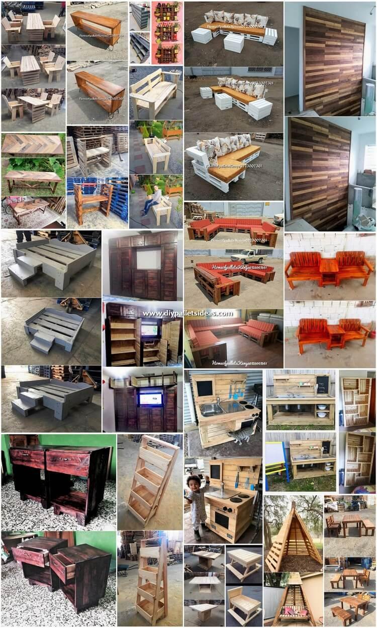 Charming DIY Wood Pallets Recreational Ideas