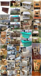 Modish and Beautiful DIY Wood Pallet Projects