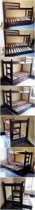 Pallet Bunk Bed