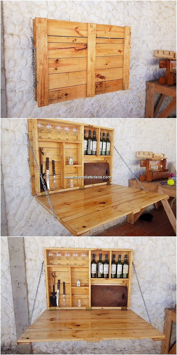 Incredible Diy Projects With Reused Wood Pallets Diy