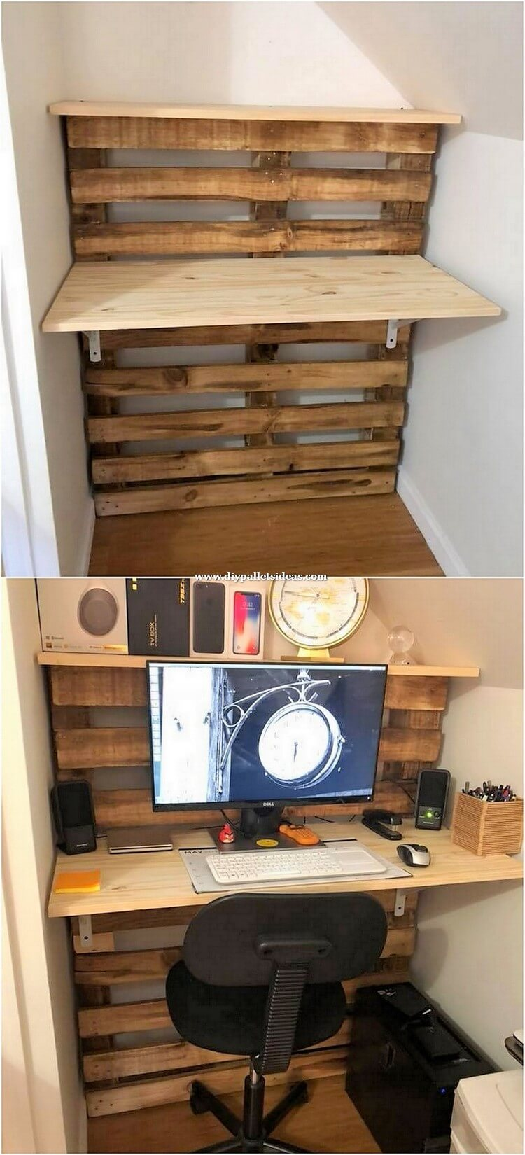 Pallet Office Desk
