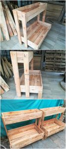 Pallet Planter Stand