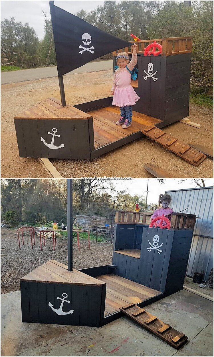 Pallet Ship for Kids