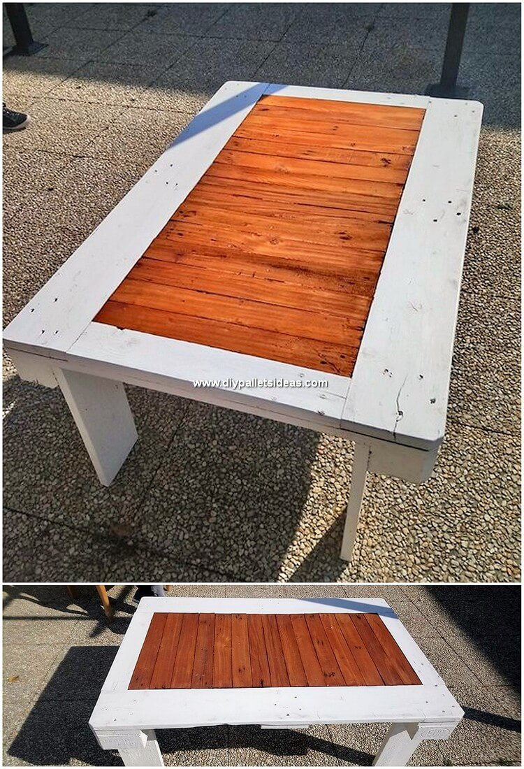 Recycled Wood Pallet Table