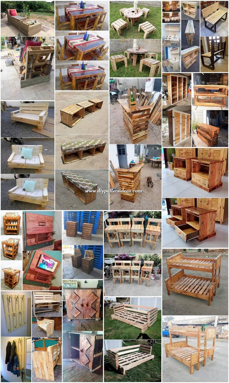 Brilliant Wood Pallet DIY Projects for Your Home