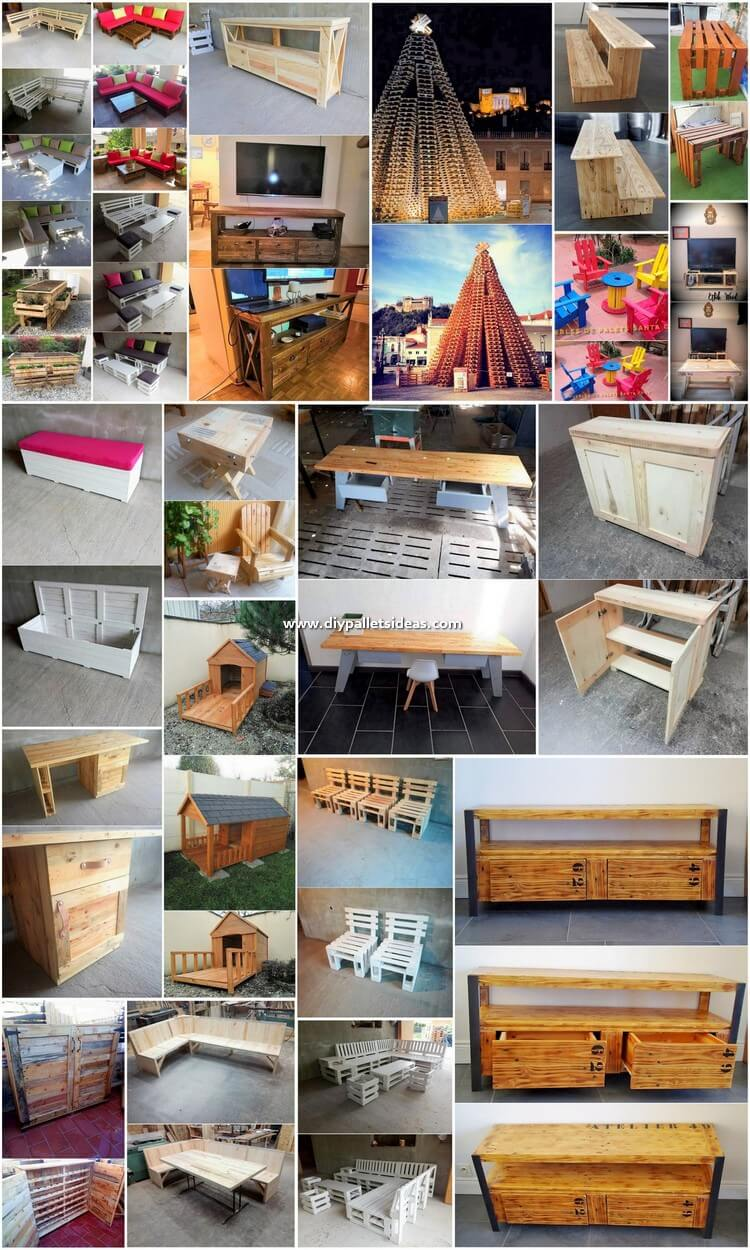 Cool and Creative DIY Ideas Out of Wood Pallets