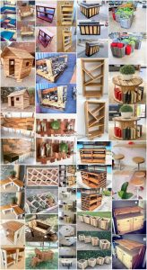 Inconceivable Ideas with Recycled Wood Pallets