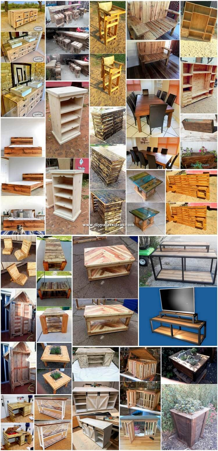 Innovative DIY Ideas of Old Pallets Recycling