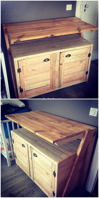 Pallet Cabinet or Desk