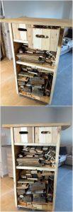 Pallet Wooden Storage