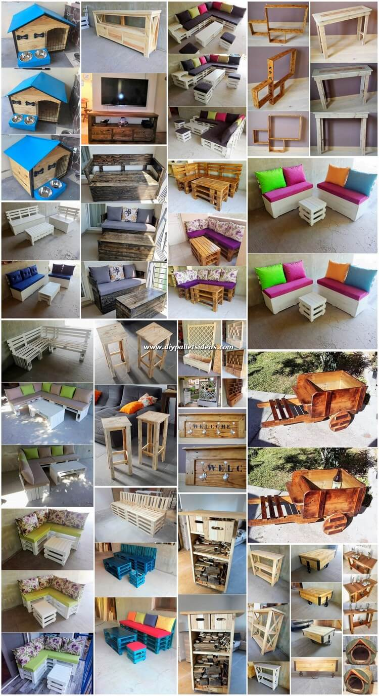 Some Creative DIY Pallet Ideas You Will Like to Follow