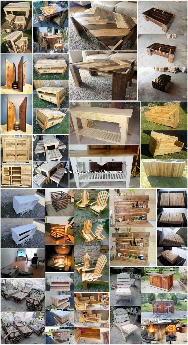 Splendid Creations Made with Recycled Wood Pallets