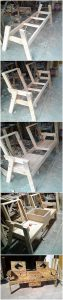 DIY Pallet Chairs or Bench