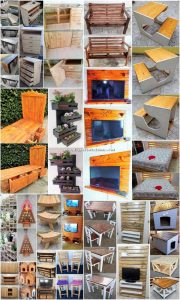 Inventive Ideas to Utilize Recycled Pallets with Amazing Techniques