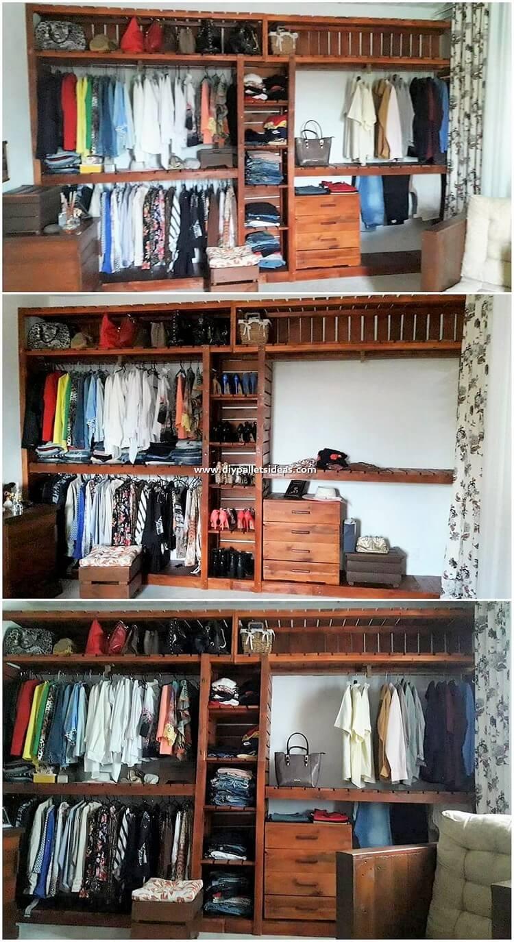 Pallet Closet