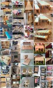 Wondrous Ideas Made with Recycled Wood Pallets