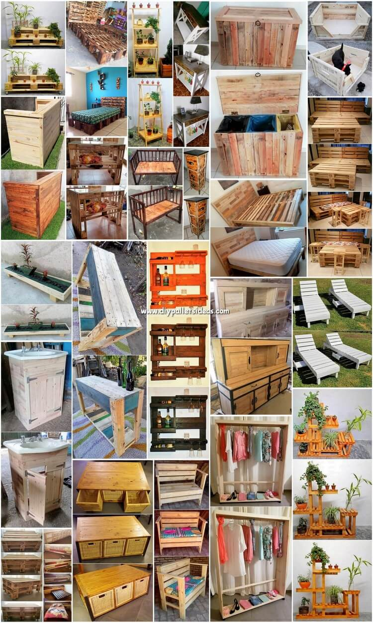 25 Impressive DIY Wood Pallet Ideas