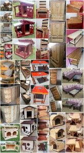 Cheap DIY Ideas Made with Recycled Wood Pallets